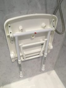 shower seat with legs