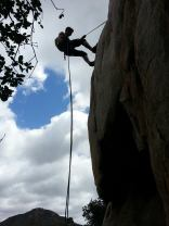 rock climbing, San Diego, outdoors, Dixon Lake, Escondido