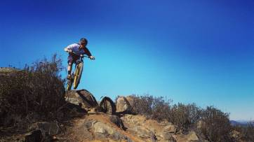 Mountain biking in Vail Lake, Temecula