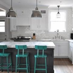 36 Inch Round Kitchen Table Modular Outdoor Frames Metrô White Um Sonho De Revestimento - Apê Novo