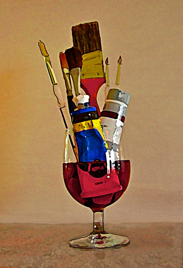 Wine Paint and SIP Paintings