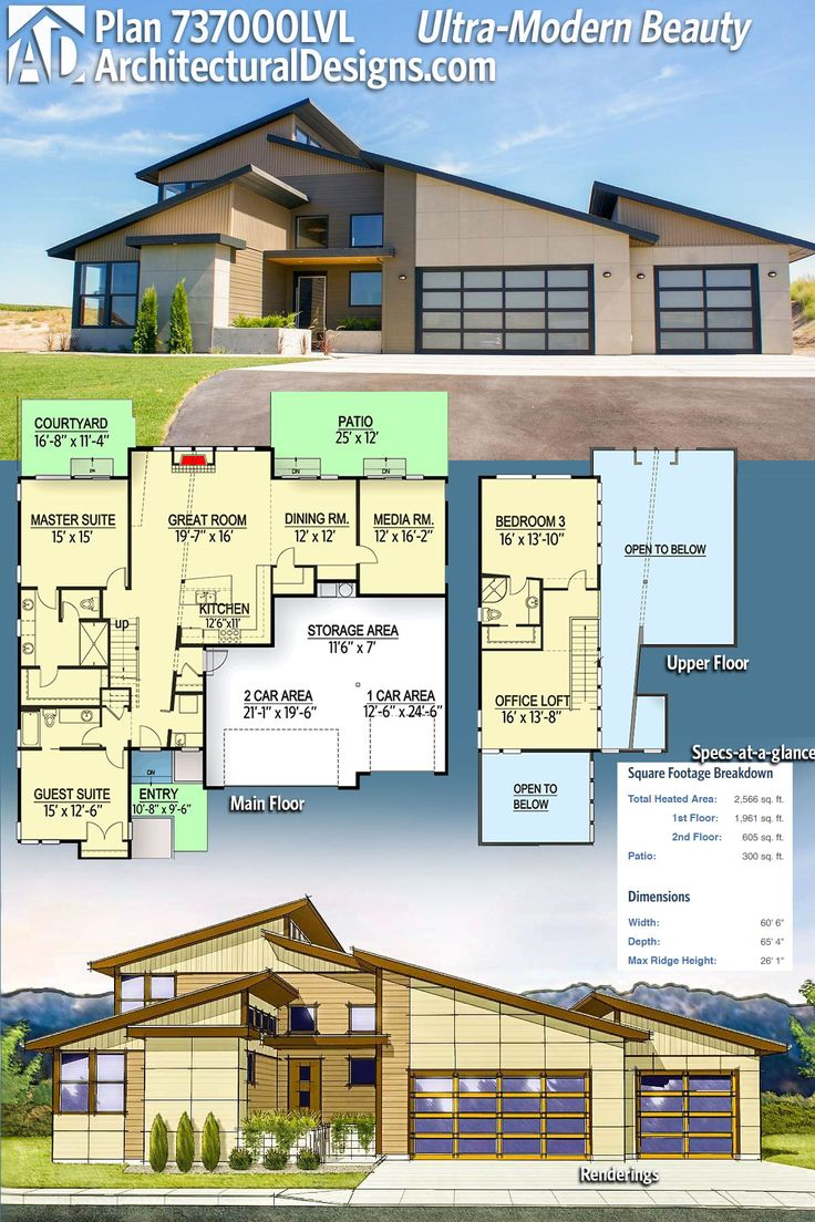Modern House Plans  Architectural Designs House Plan