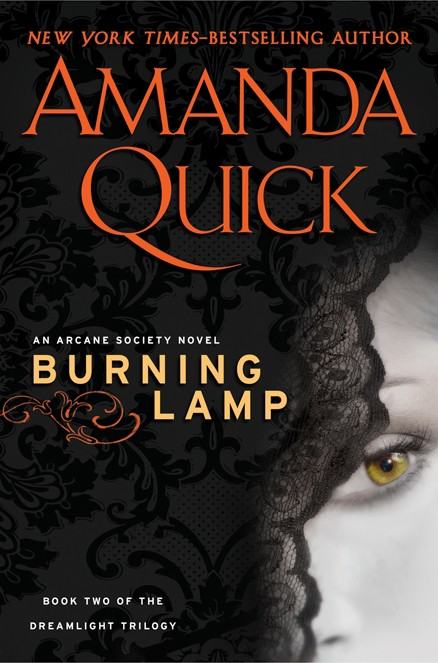 RNING LAMP  by Amanda Quick