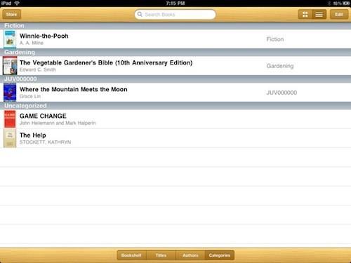 iBook Shelf