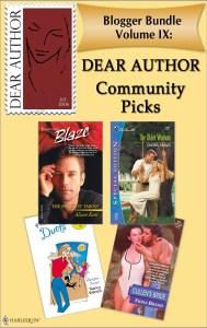 Dear Author Community Picks Bundle IX - JULY 2010