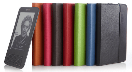 Kindle 3 Lighted Covers Colors