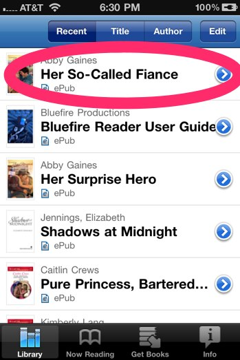 NEWSFLASH: Bluefire Reader Allows You to Read ENCRYPTED