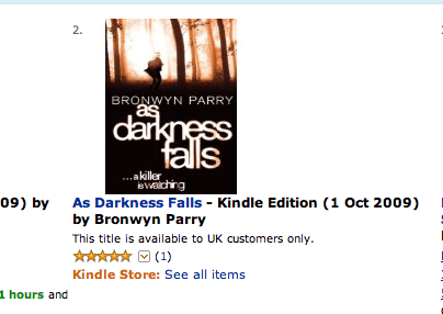 As Darkness Falls