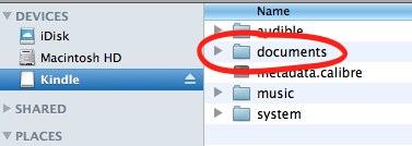 Kindle docs screenshot