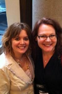 Angela James and Lauren Dane