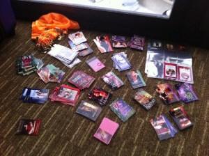 Romance Trading Cards