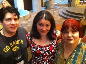 Andrew Shaffer, Courtney Milan, and Kate Smith