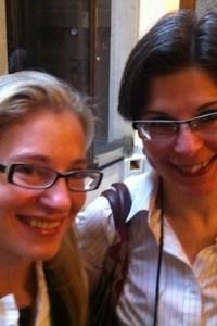 Liz Maverick and Megan Frampton