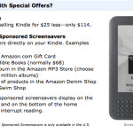 Kindle with benefits
