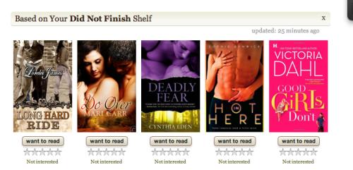 DNF goodreads shelf