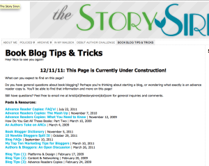 Story Siren site