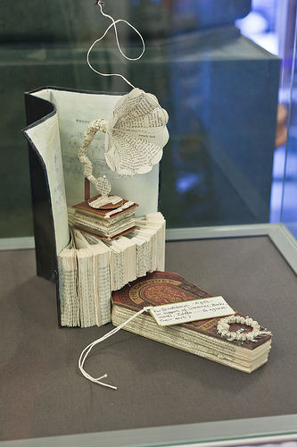 Secret Scottish paper sculpture