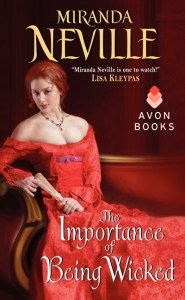 The Importance of Being Wicked by Miranda Neville