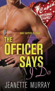 """Officer Says """"I Do"""" (Semper Fidelis. Always Faithful.) Jeanette Murray"""