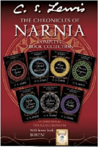 The Chronicles of Narnia Complete 7-Book Collection with Bonus Book: Boxen C. S. Lewis (Author), Pauline Baynes (Illustrator)
