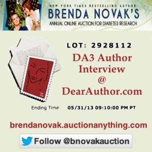 Novak Auction DA3 Interview