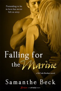Falling for the Marine (McCade Brothers #2) by Samanthe Beck