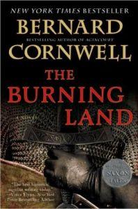The Burning Land (Saxon Tales #5) by Bernard Cornwell