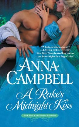 A Rake's Midnight Kiss (Sons of Sin Series #2) by Anna Campbell