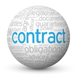 """""""CONTRACT"""" Tag Cloud Globe (agreement signature law legal form)"""