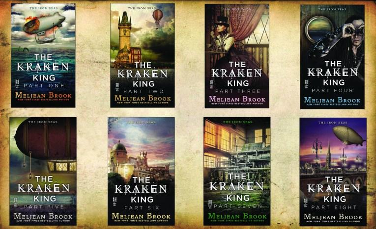 Kraken King Covers Poster