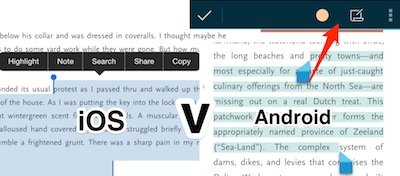 scribd ios v android