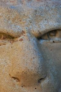 gargoyle eyes in stone