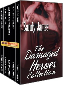 The Damaged Heroes Collection (BookStrand Publishing Mainstream) [NOOK Book] by Sandy James