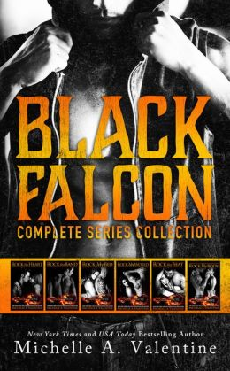 Black Falcon: Complete Series Collection by Michelle A. Valentine