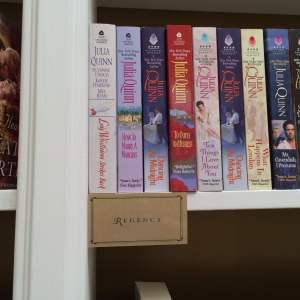 Ripped Bodice Julia Quinn shelf