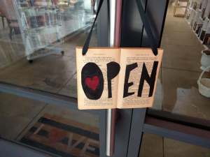 Ripped Bodice open sign