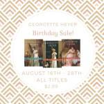 Georgette Heyer Birthday Graphic