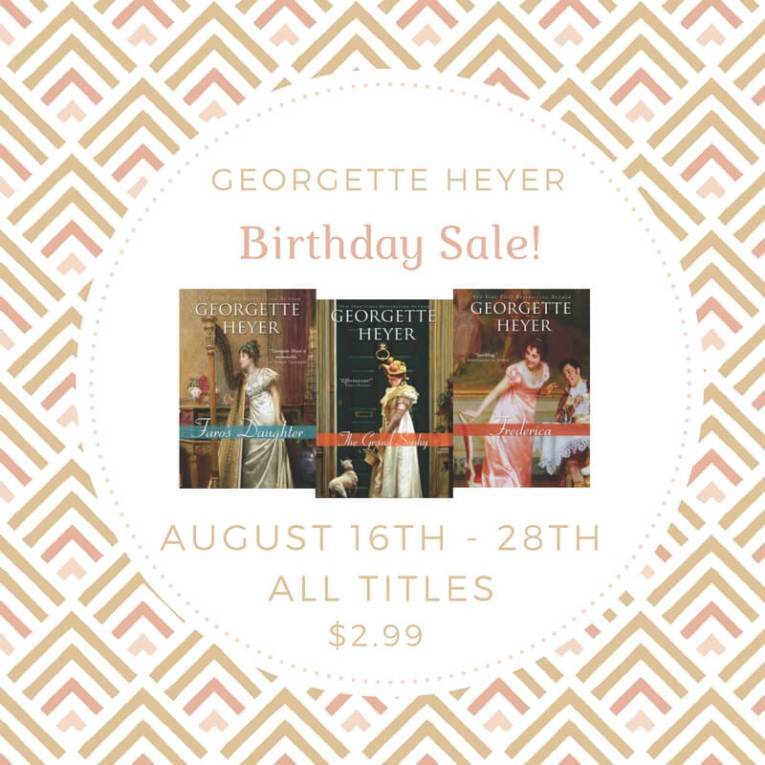 Georgette Heyer Birthday Graphic