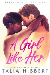 Picture of a black woman with short dark hair with her arms around the neck of a taller white man with brown hair. He has his arms around her waist. They are both topless but the middle bit is a bit blurred and the book title in pink is there too so it's the suggestion of naked rather than anything explicit.