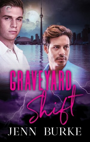 Two hot guys, one older (though he looks a lot less old than on previous covers), against the background of a body of water