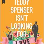 "Illustrated cover of a stylish white man and a Black man in a dark suit on either side of a huge bunch of flowers with a banner in pink reading ""Love"""