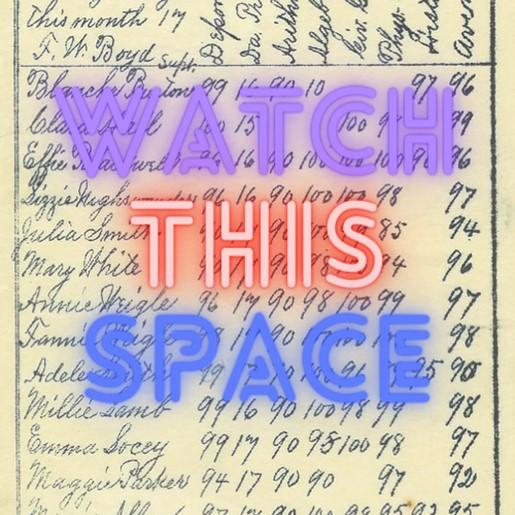 Watch This Space - Gradebook
