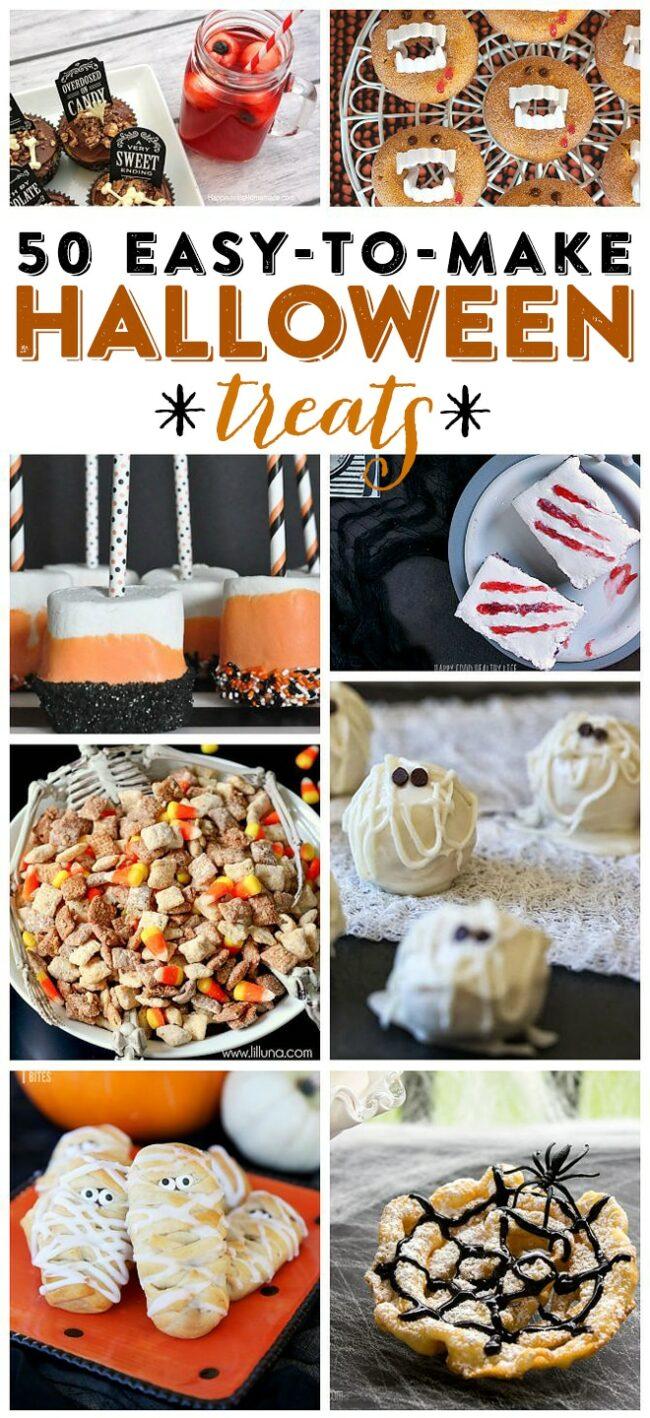 Halloween Treat Ideas For Coworkers : halloween, treat, ideas, coworkers, Halloween, Treats:, Easy-to-make, Treats