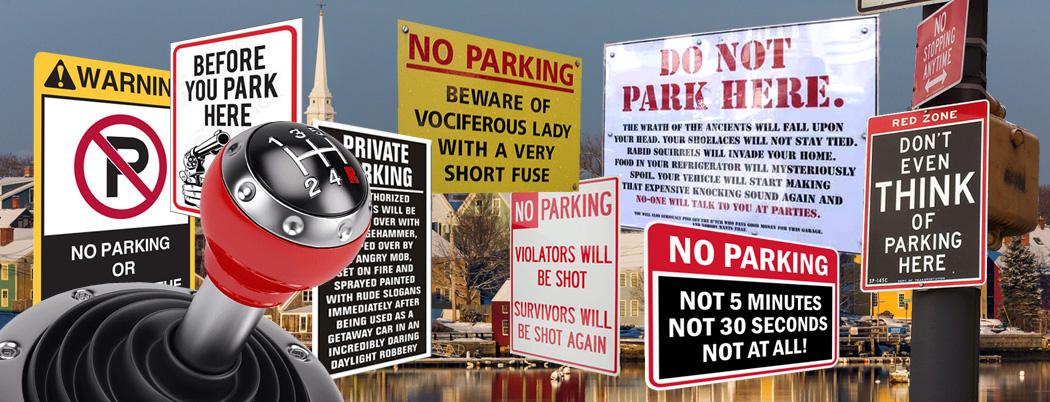 portsmouth parking complaint collage