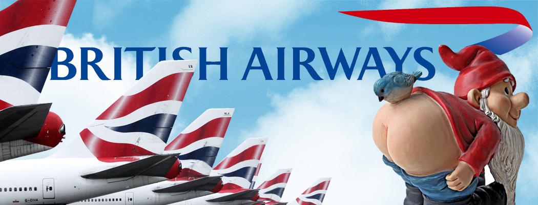 British Airways gnome