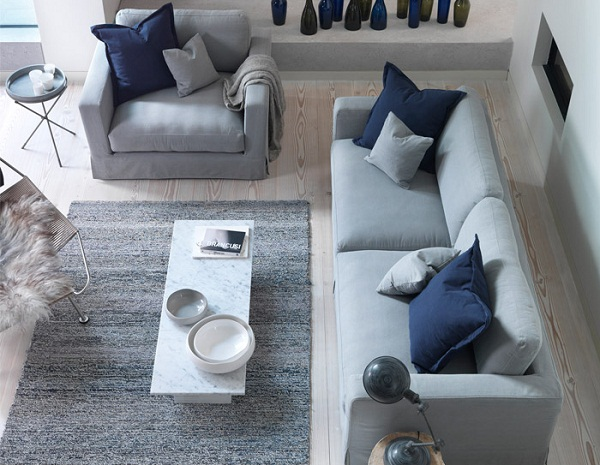 chic sofas uk red sofa bed what's in the shops? - french connection and dfs | dear ...