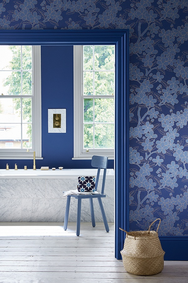 Dive into the Blue with Little Greene This Autumn