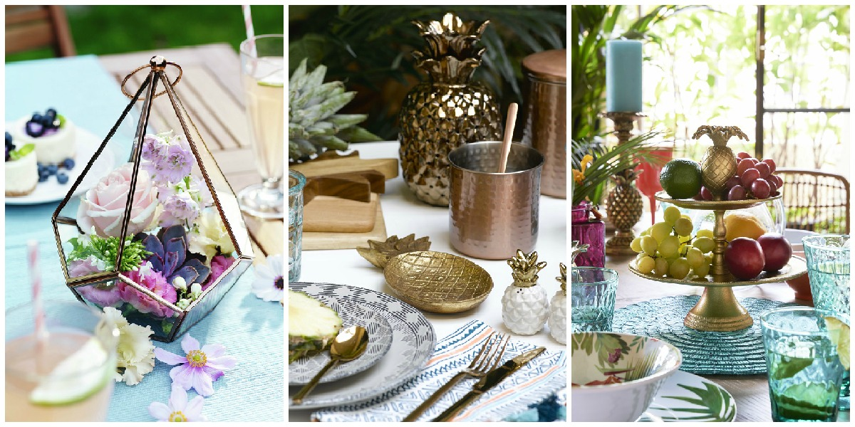 Summer Dining Table Decor Table Decoration Ideas For Summer Dining Tables