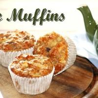 APPLE MUFFINS - SUGAR FREE