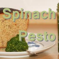 VEGAN SPINACH PESTO